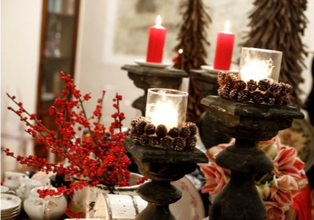 Christmas Eve dinner table decor ideas and how to