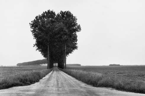 Henri Cartier-Bresson photography Brie France black and white