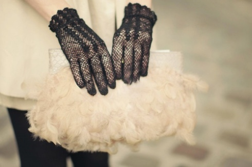 Lace Spring 2012 trend outfit ideas inspiration