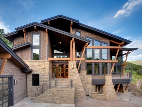 Mountain house Colorado architecture