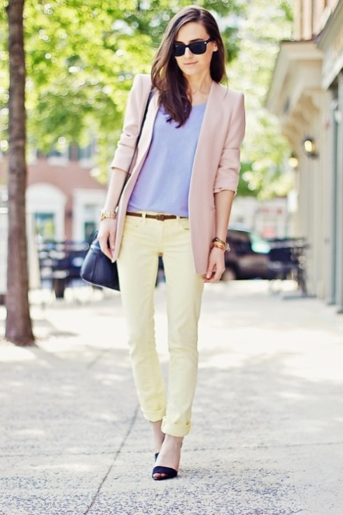 Pastels spring summer trend candy color fashion style