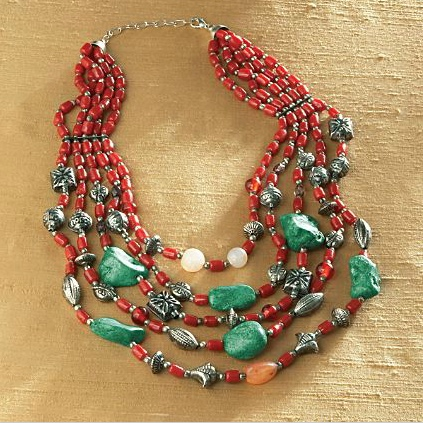 Tribal trend Spring 2012 jewelry colorful