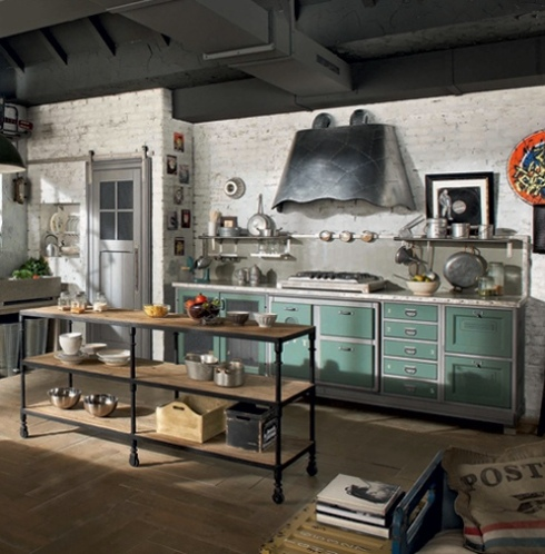 Vintage kitchen idea interior design inspiration