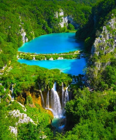 Plitvice waterfall Croatia travel ideas visit see must