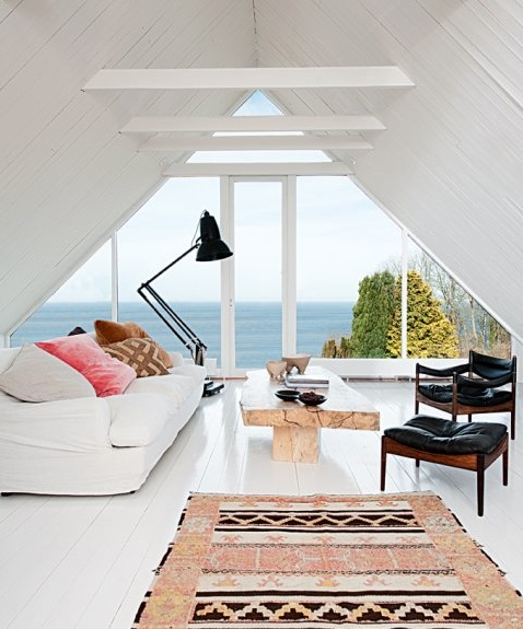 Attic decor interiors design ideas inspiration style
