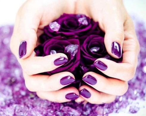 Manicure nails hands polish fashion style