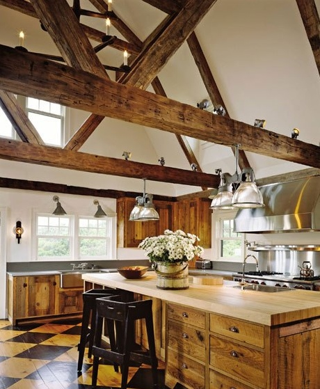 Rustic style interior design decor inspiration ideas