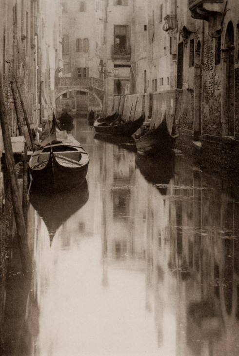 Alfred Stieglitz  Venetian Canal Photography