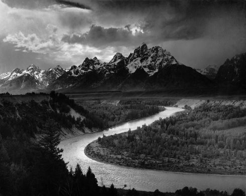 Ansel Adams master photography black and white