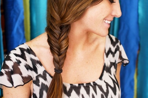 hair style ideas inspiration how to fishtail fish tail
