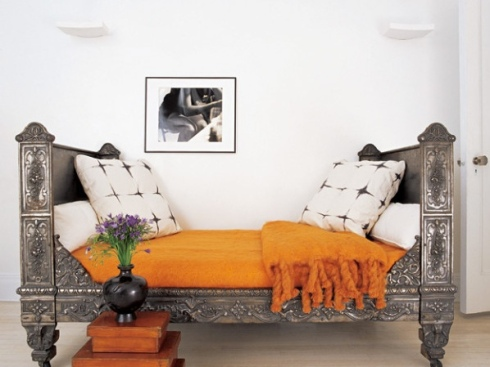 orange concept color inspiration ideas ROYGBIV decor style interiors fashion