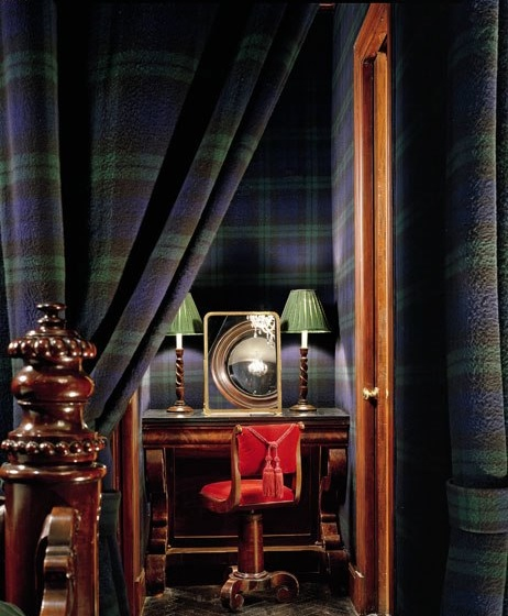 Tartan plaid fashion style how to wear ideas inspiration decor interiors design