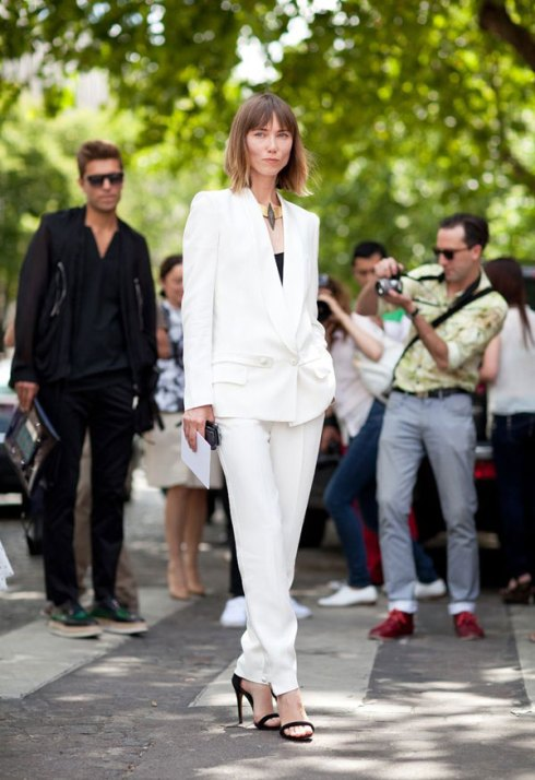 white suit fashion style summer how to wear ideas inspiration