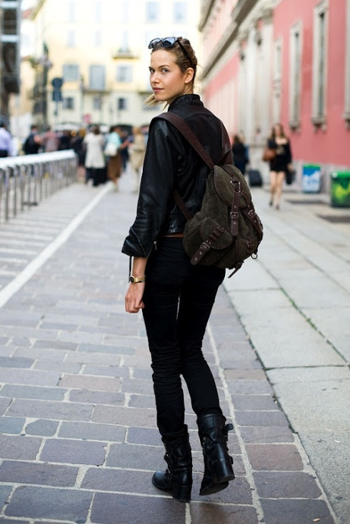 backpack fashion style ideas how to wear