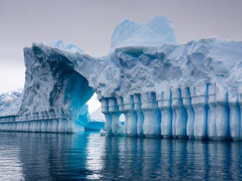 melting global warming nature protect environment