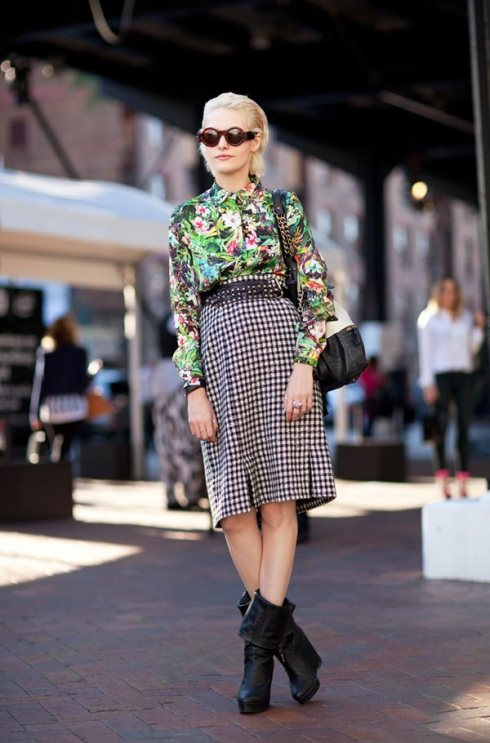 print mix fashion style ideas inspiration how to
