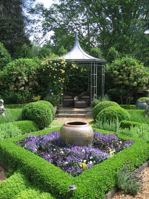 secret garden nature green refreshing calming serenity