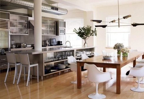 steel design interiors ideas inspiration kitchen