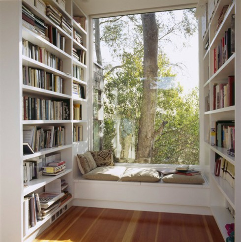 window seat style interiors design decor reading nook